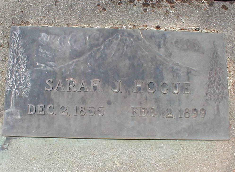 Sarah Jane <i>Bunch</i> Hogue