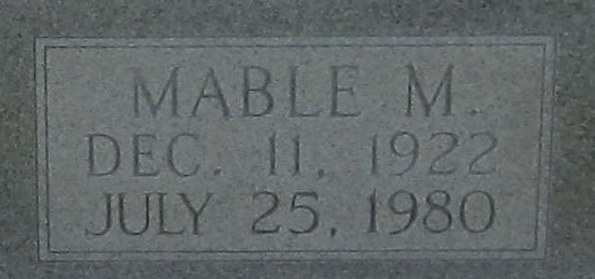 Mable Marie <i>Thompson</i> Dunnahoe