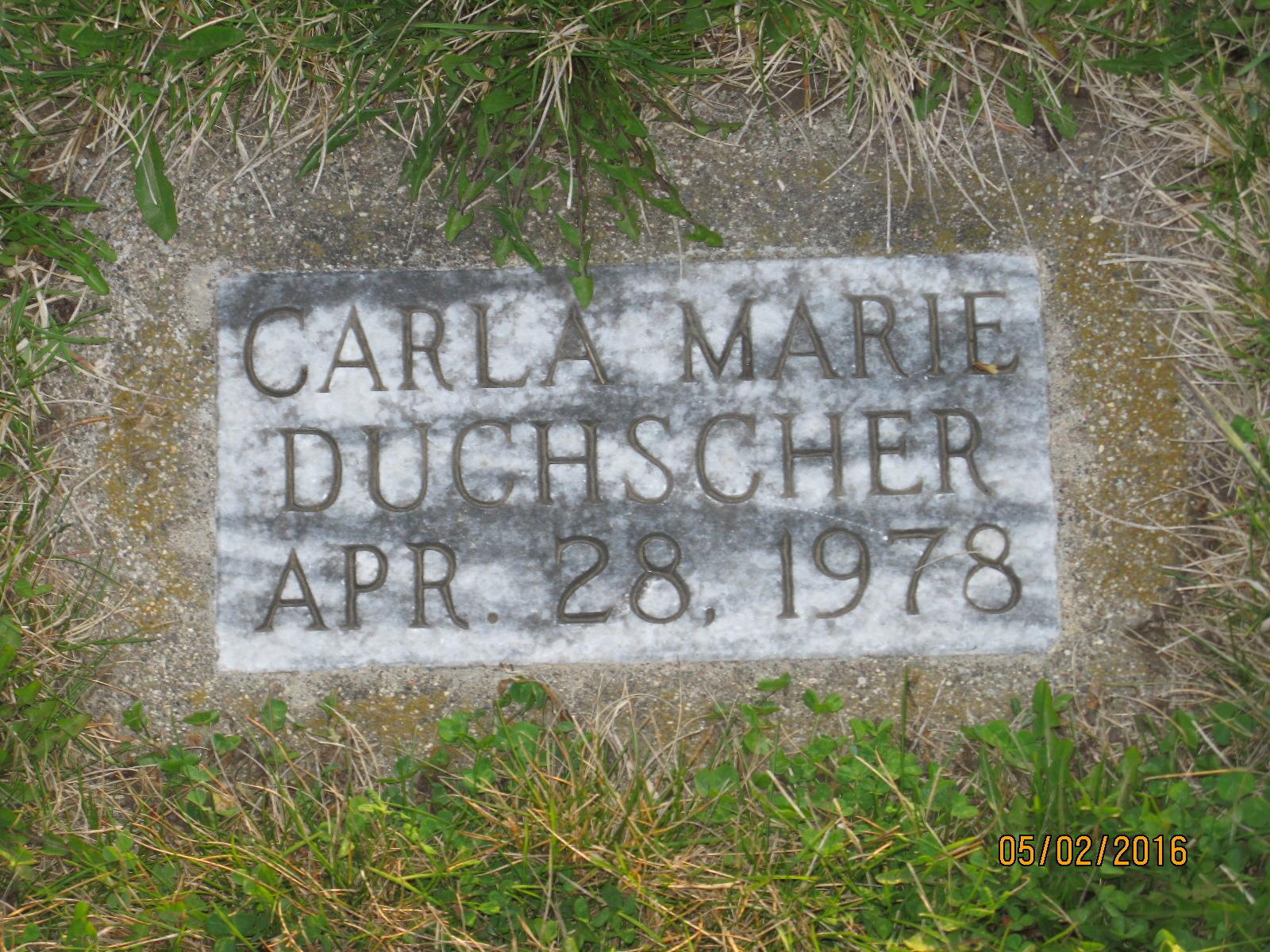 Carla Marie Duchscher