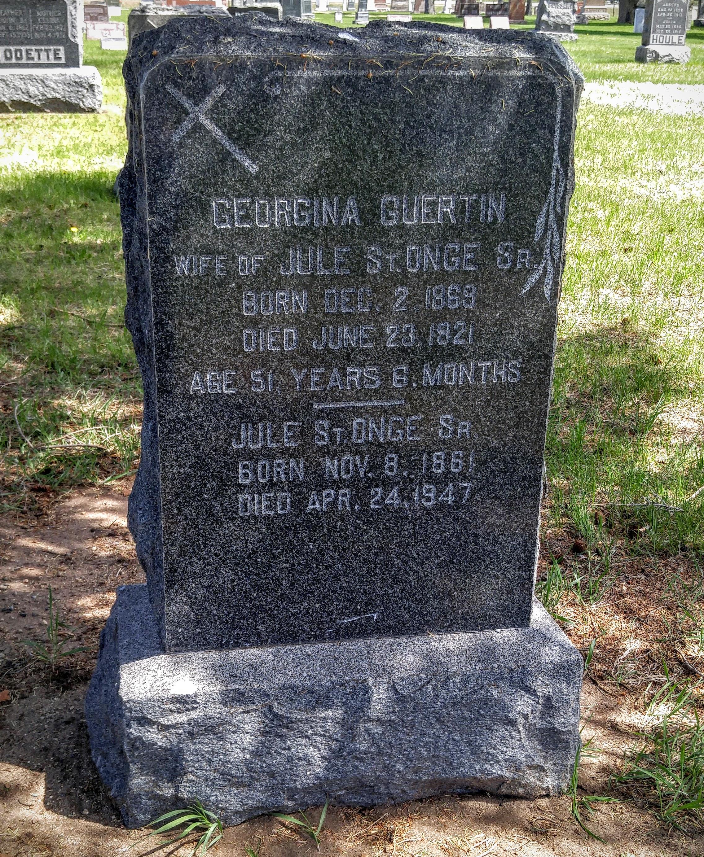 Georgenia <i>Guertin</i> St. Onge