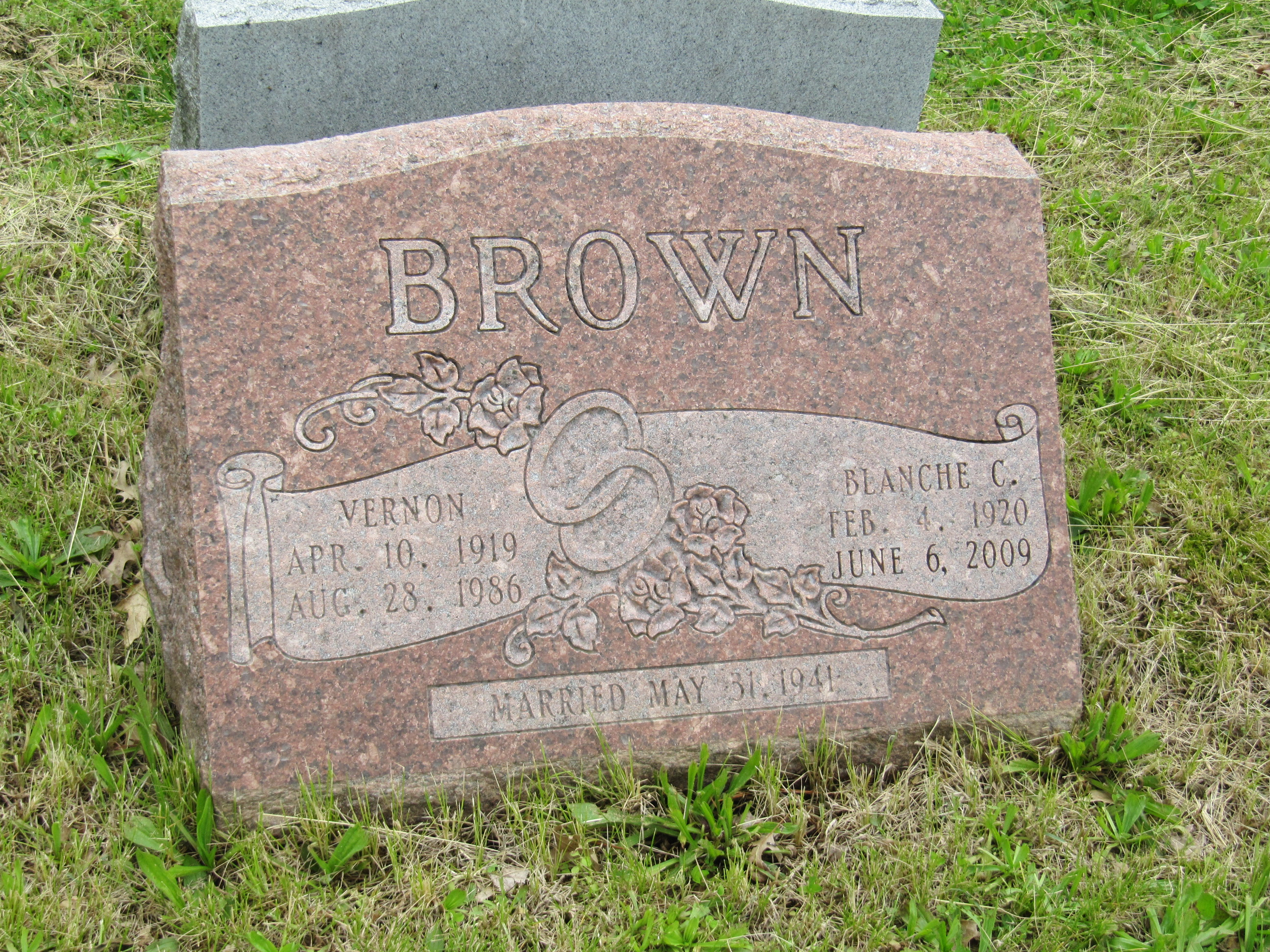 Blanche C <i>Dierkes</i> Brown