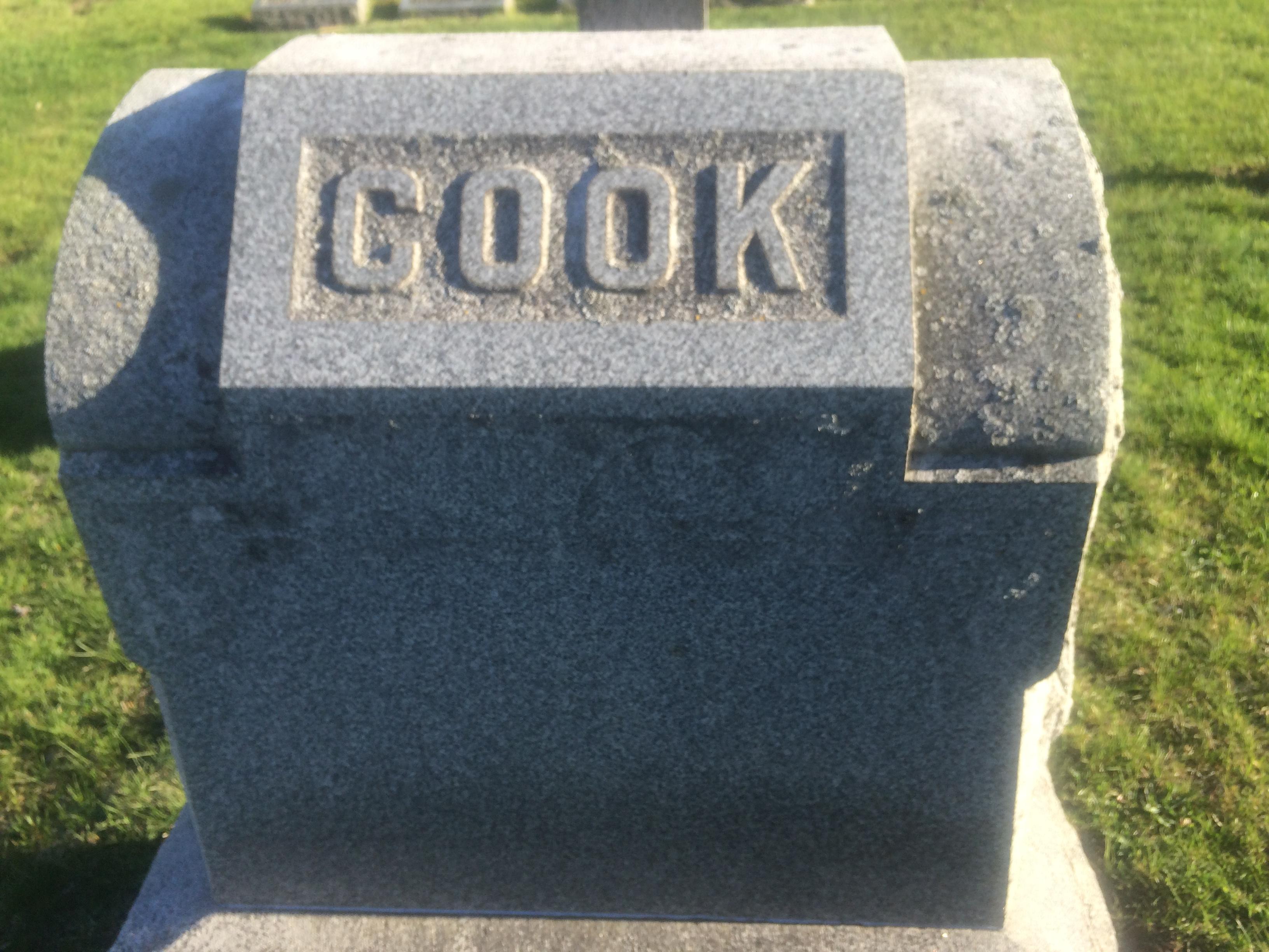 Mary Ann <i>Morrison</i> Cook