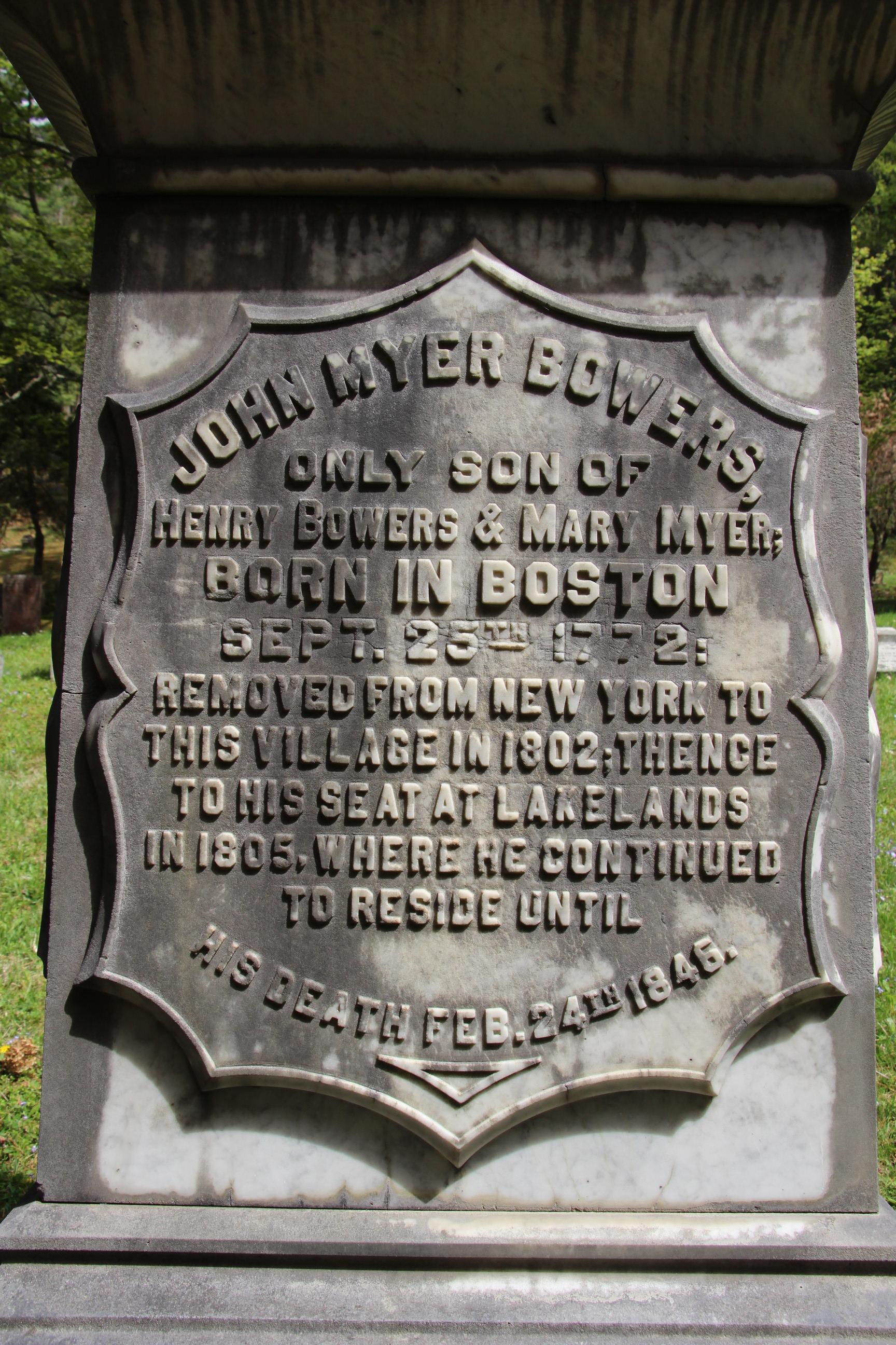 John Myer Bowers