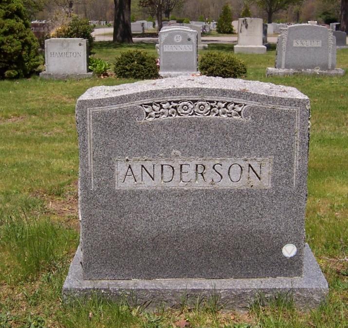 Ethel M <i>Clapp</i> Anderson