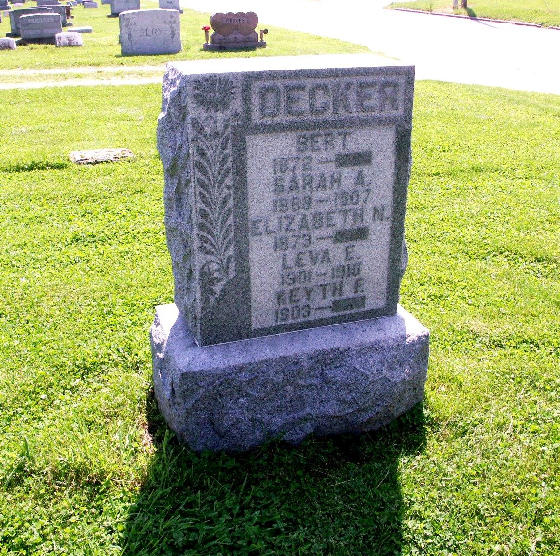 Sarah A Decker