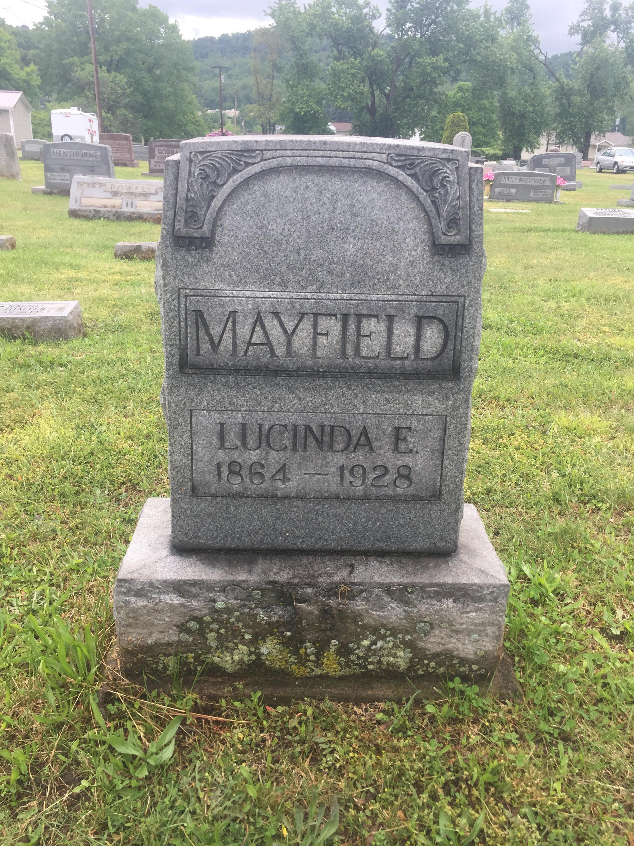 Lucinda <i>Henderson</i> Mayfield