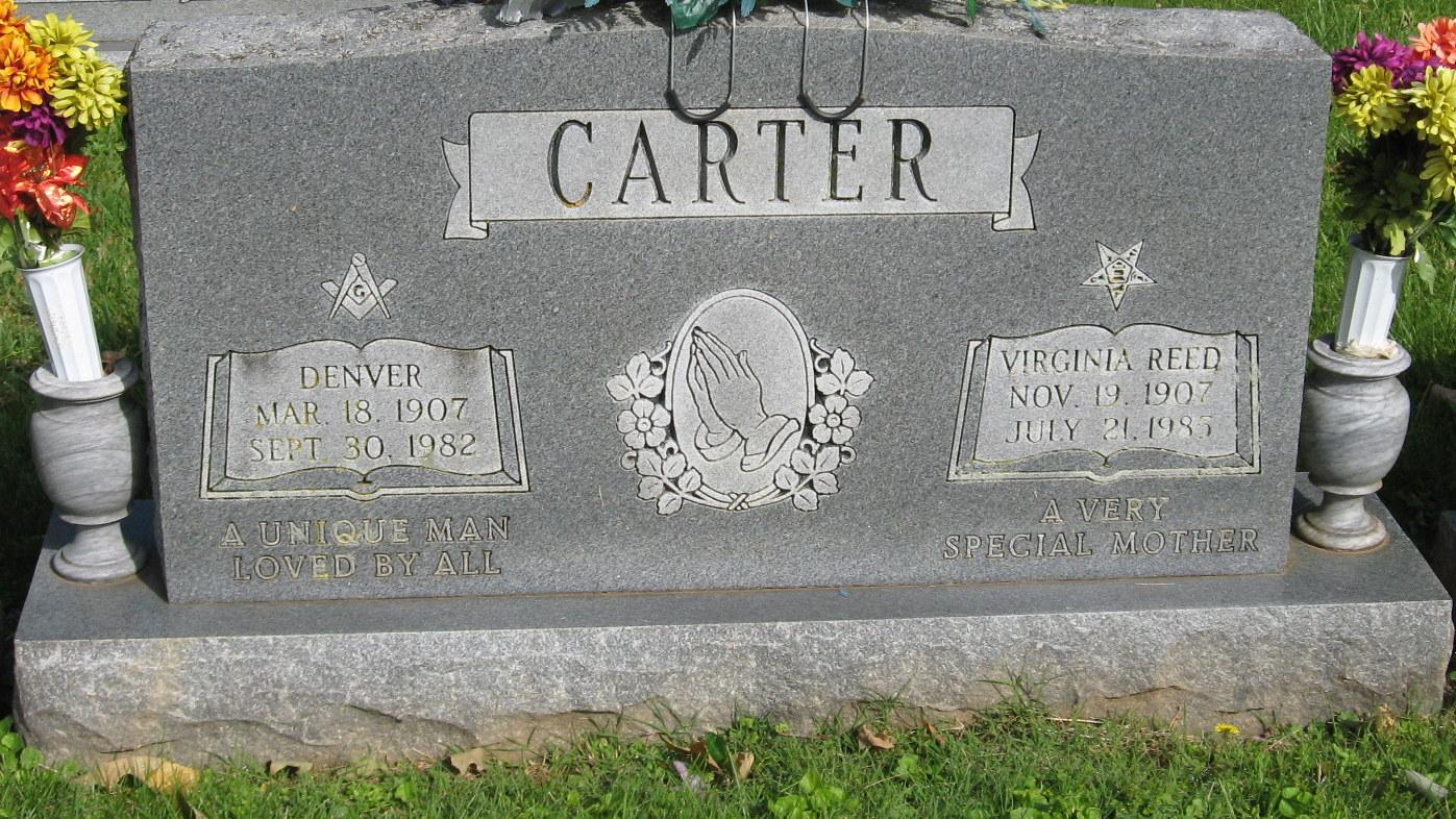 Virginia Jenny <i>Reed</i> Carter
