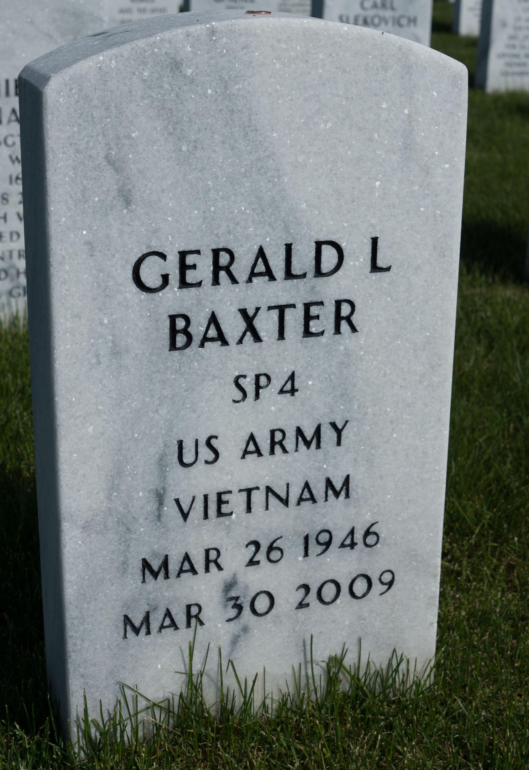Gerald Lee Baxter