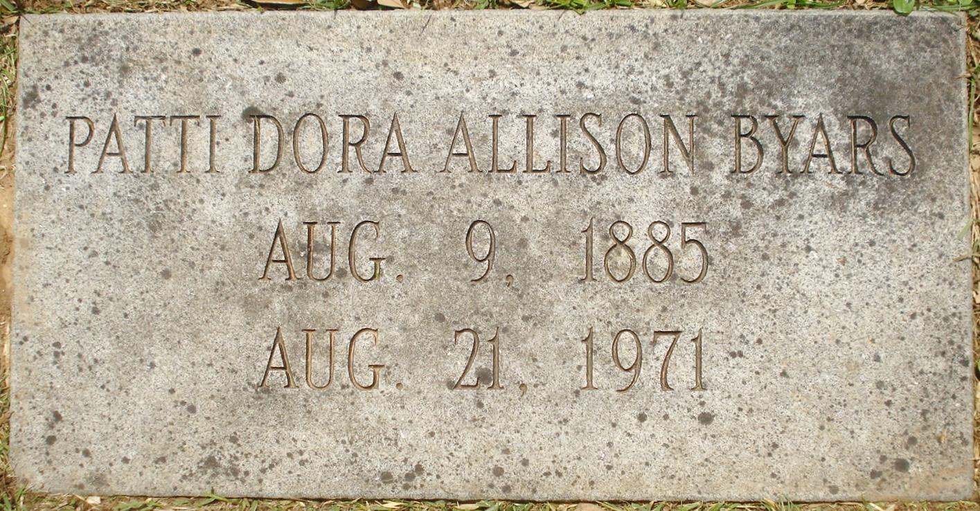 Patti Dora <i>Allison</i> Byars