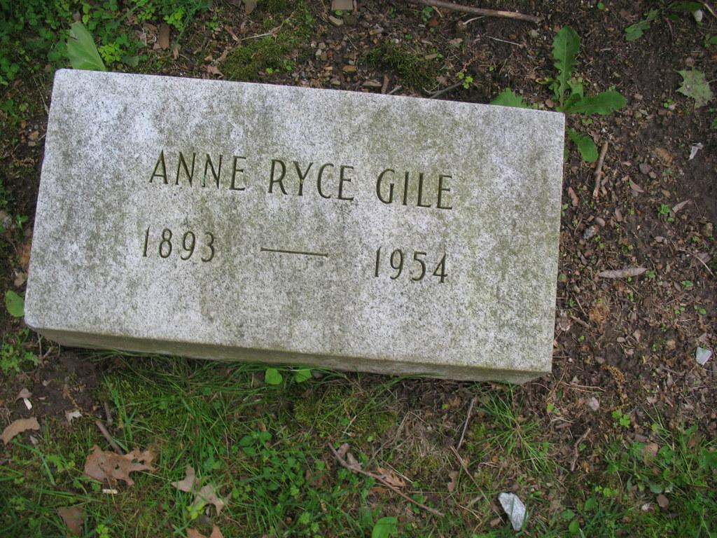 Anne Bunce <i>Ryce</i> Gile