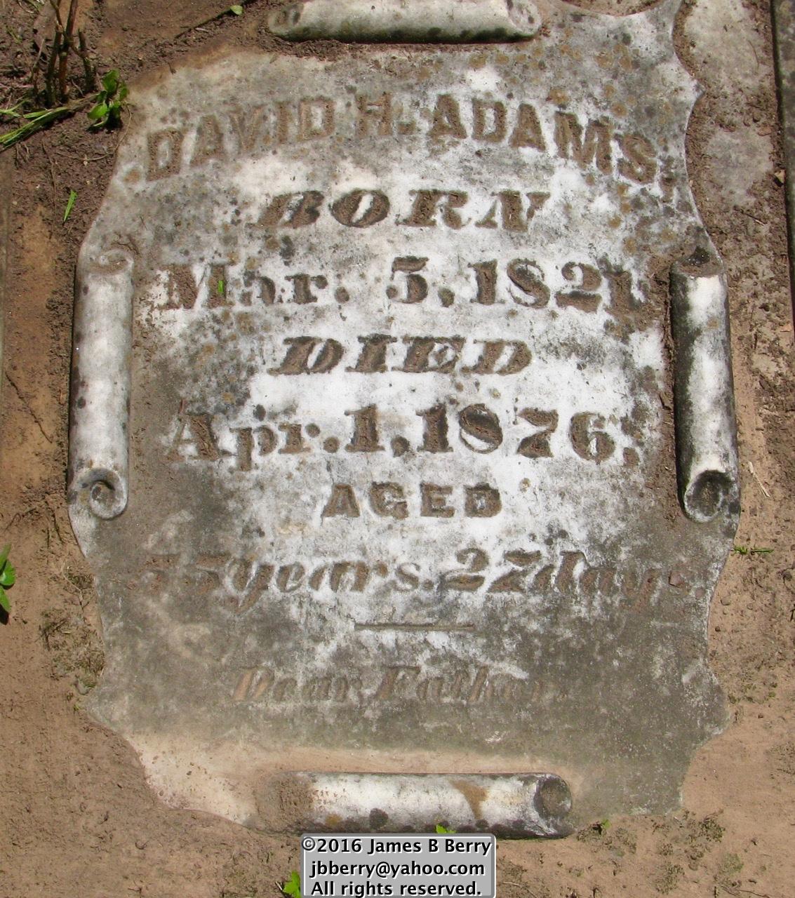 David H. Adams