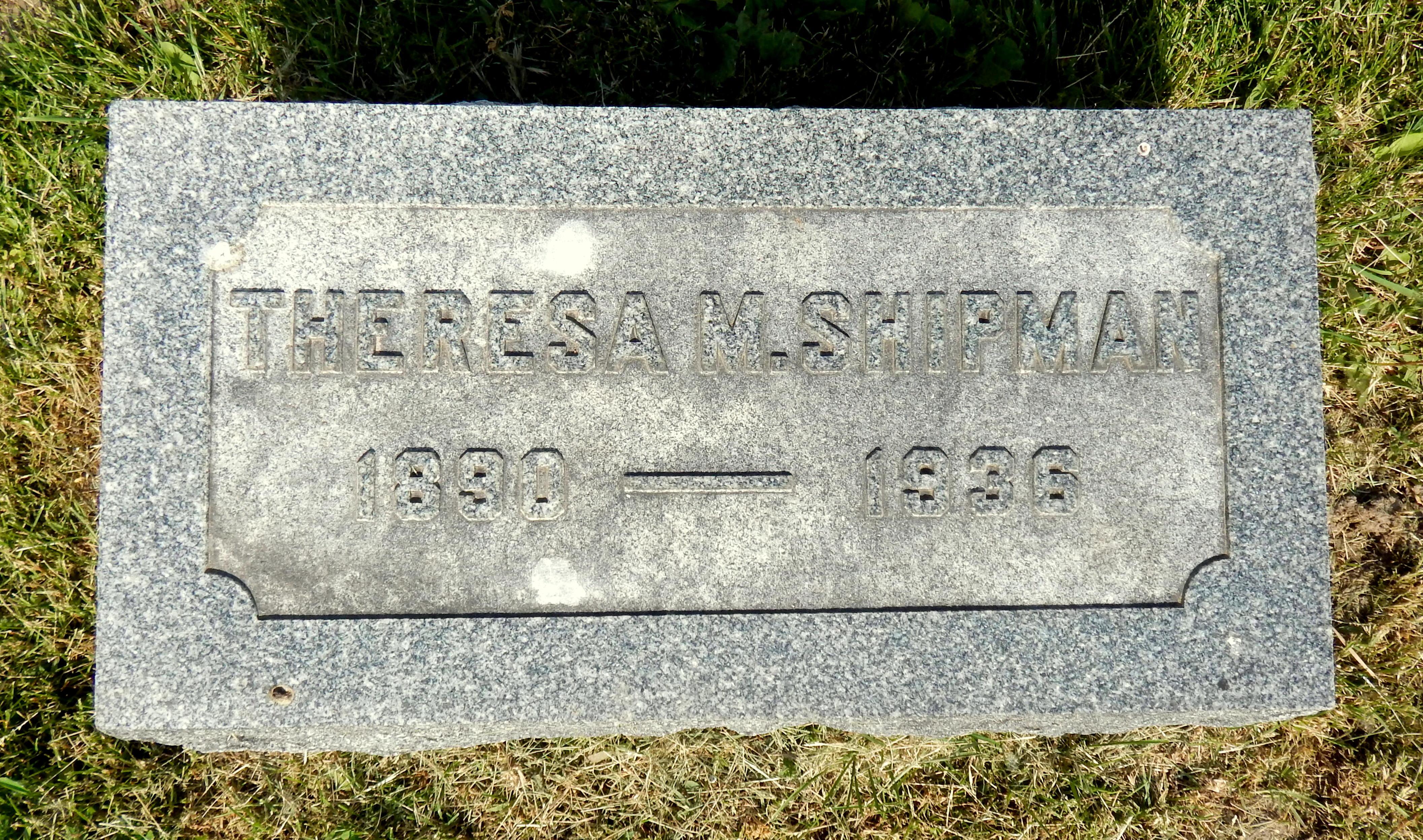 Theresa Matilda <i>Miller</i> Shipman