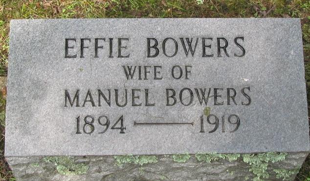 Effie <i>Clark</i> Bowers