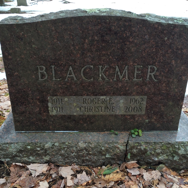 Christine <i>Bates</i> Blackmer