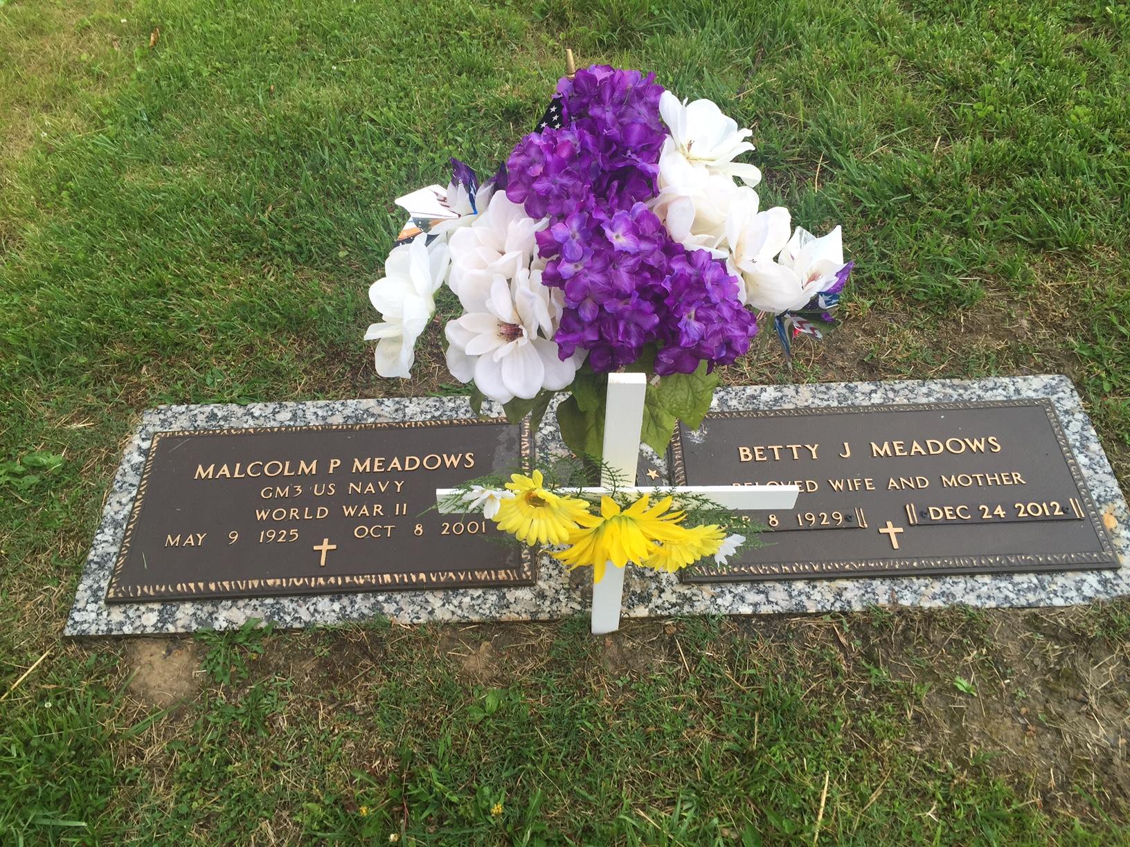 Malcolm Prichard Meadows (1925-2001) - Find A Grave Memorial