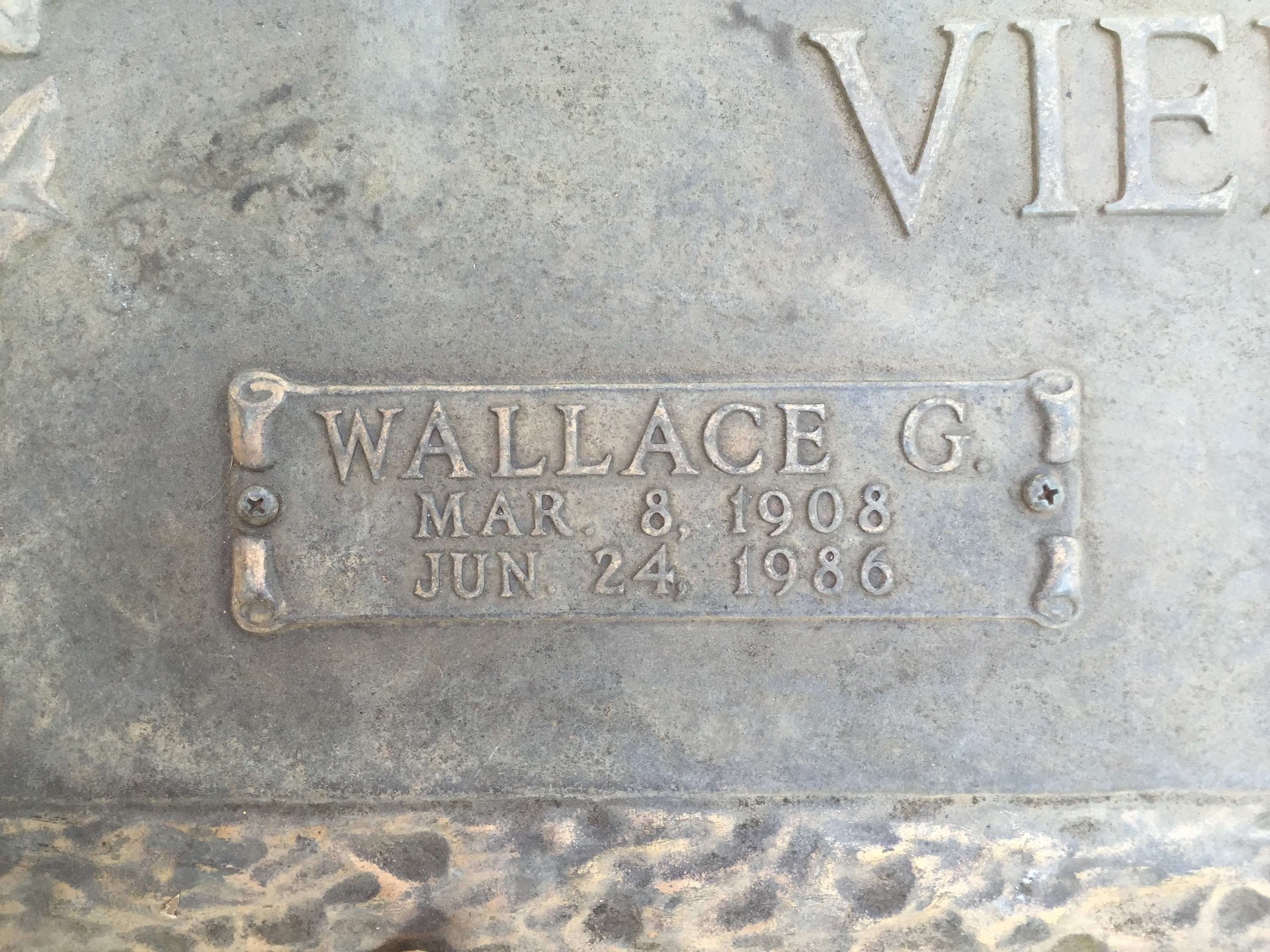 Wallace Gerald Wally Viers