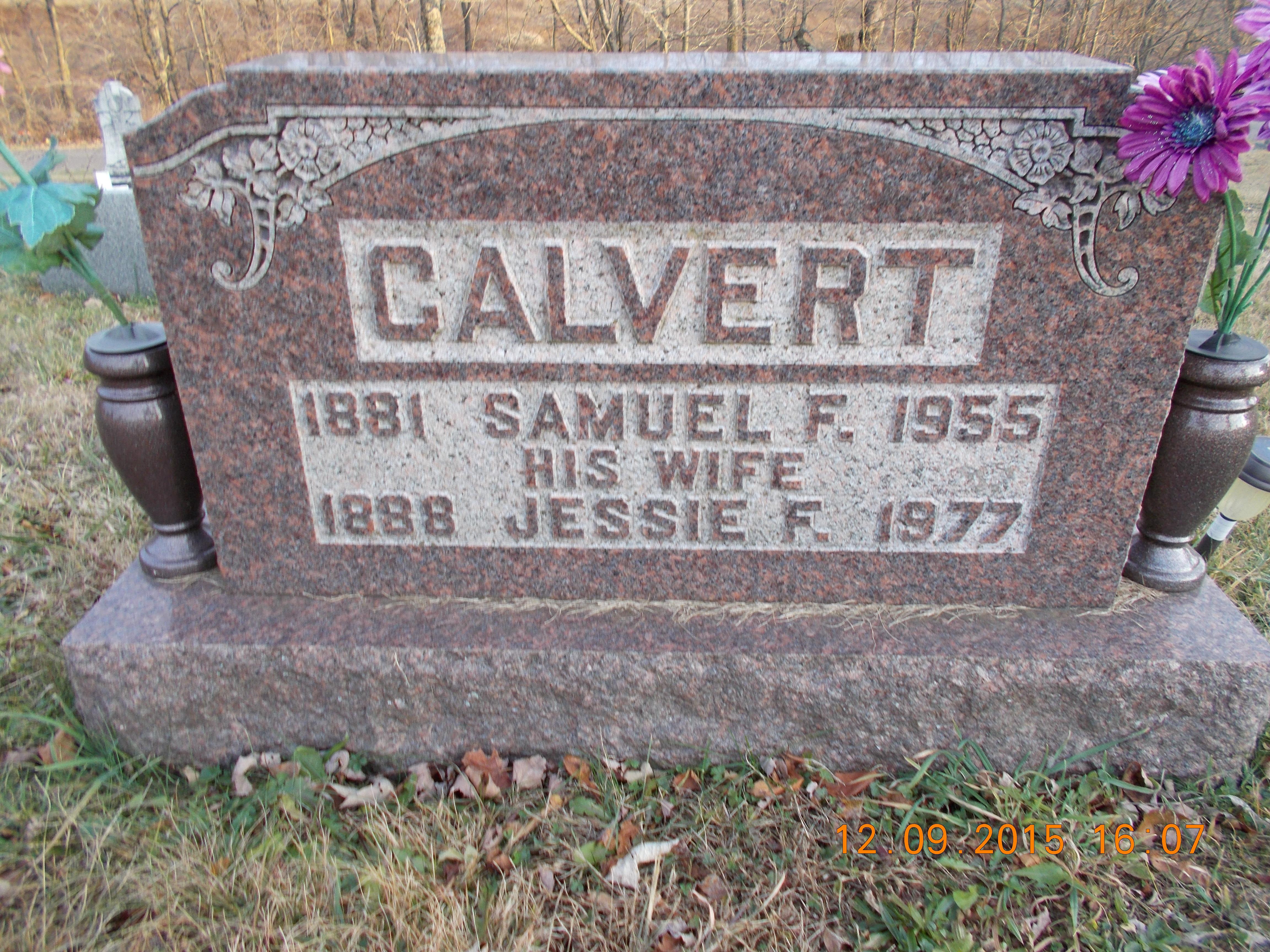 Jessie Fern <i>Mayfield</i> Calvert