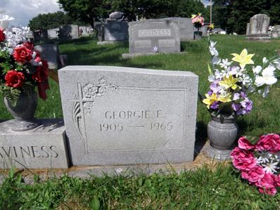 Georgia Ellen Georgie <i>Parnell</i> Caviness