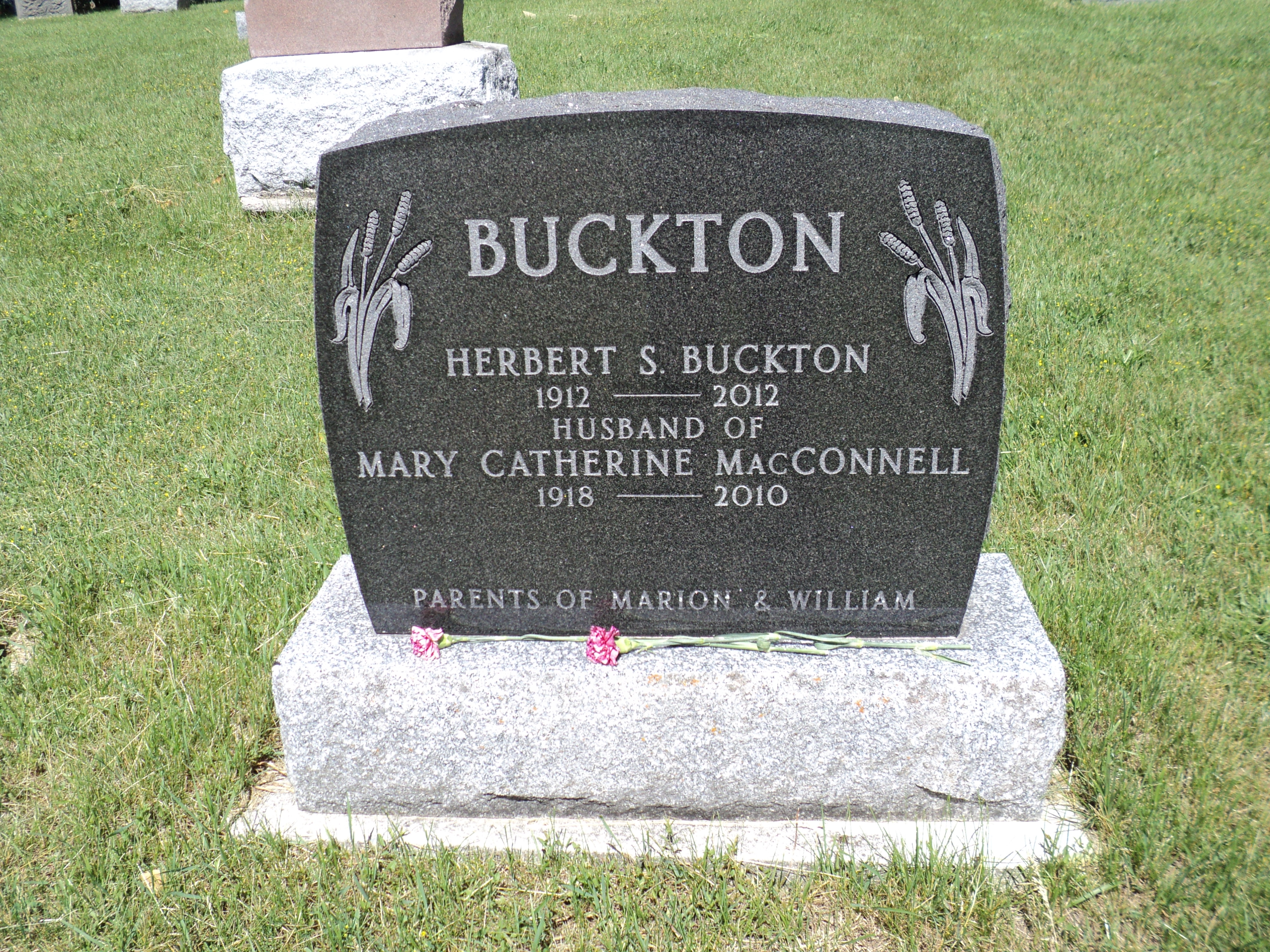 Herbert S Herb Buckton