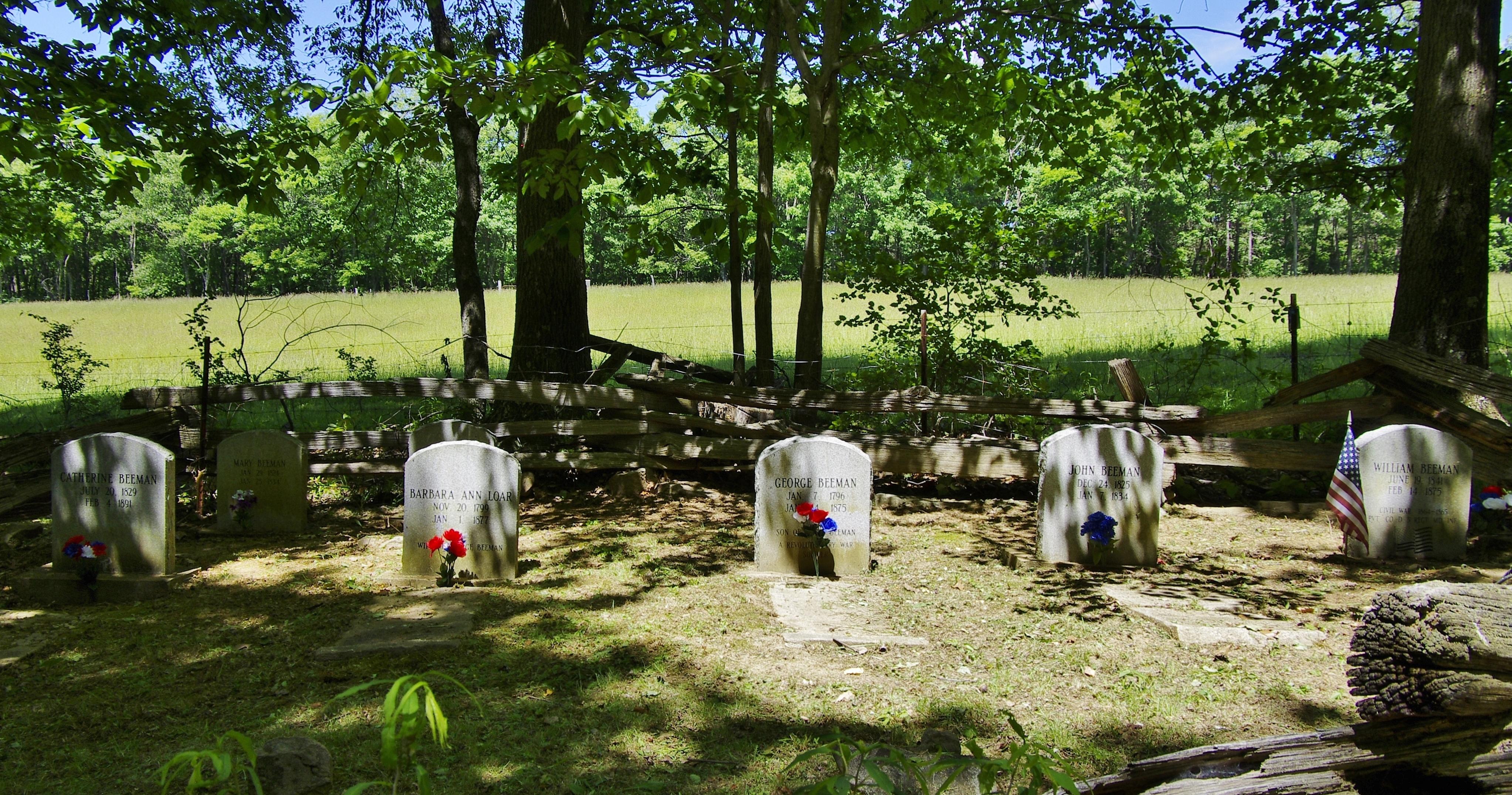 George & Barbara (Loar) Beeman Cemetery