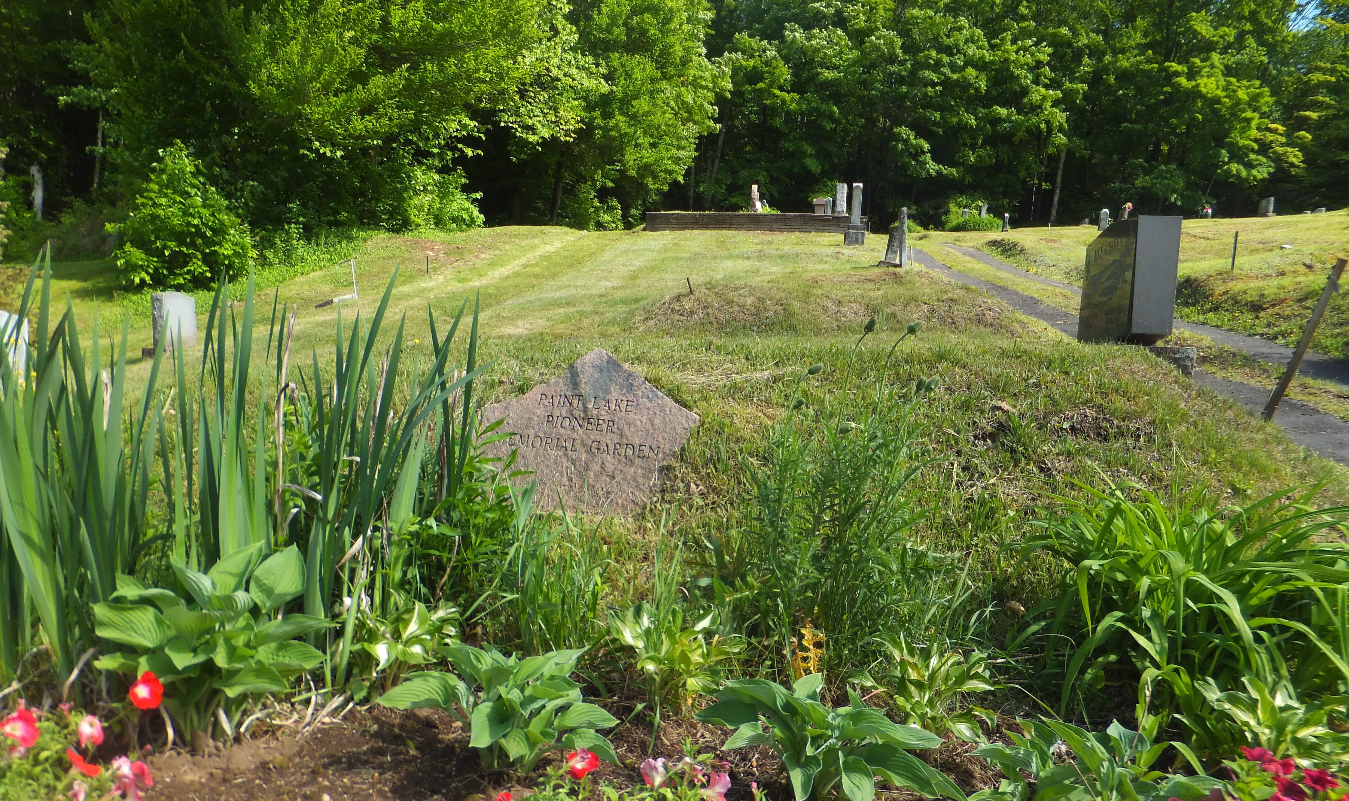 Paint Lake Pioneer Cemetery