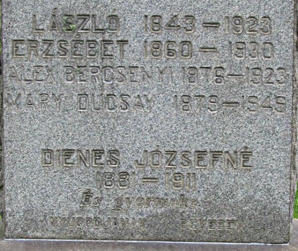 Gizella <i>Bercsenyi</i> Dienes