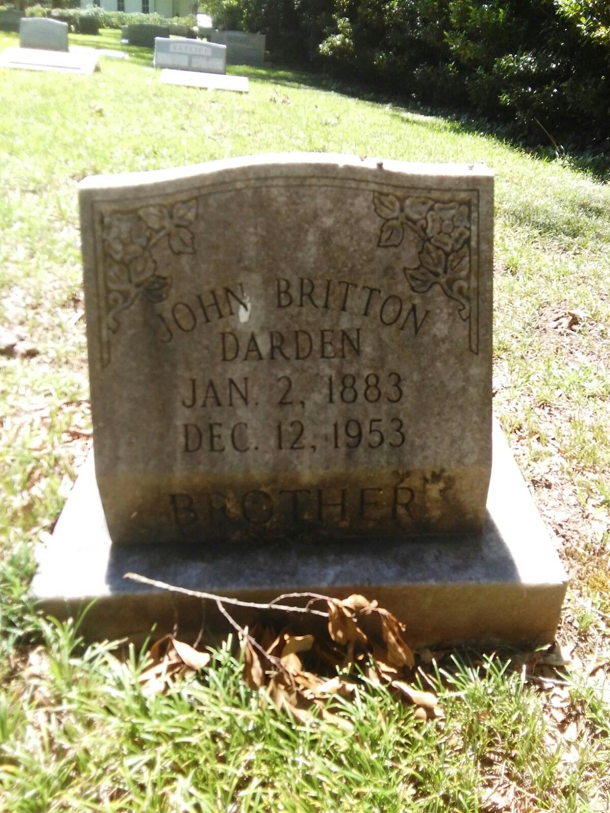 John Britton Darden