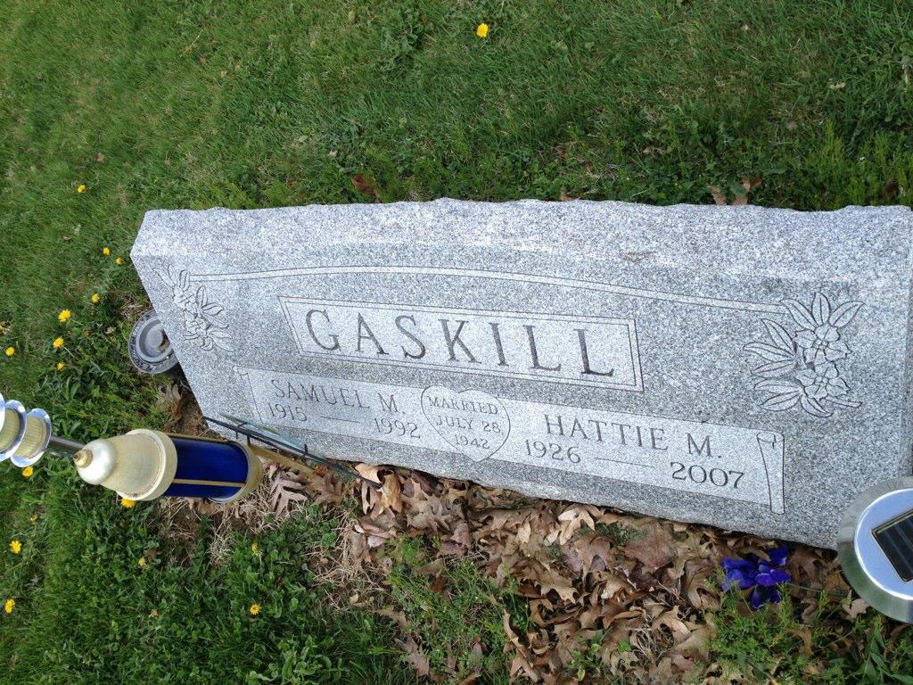 Martha <i>Hall</i> Gaskill