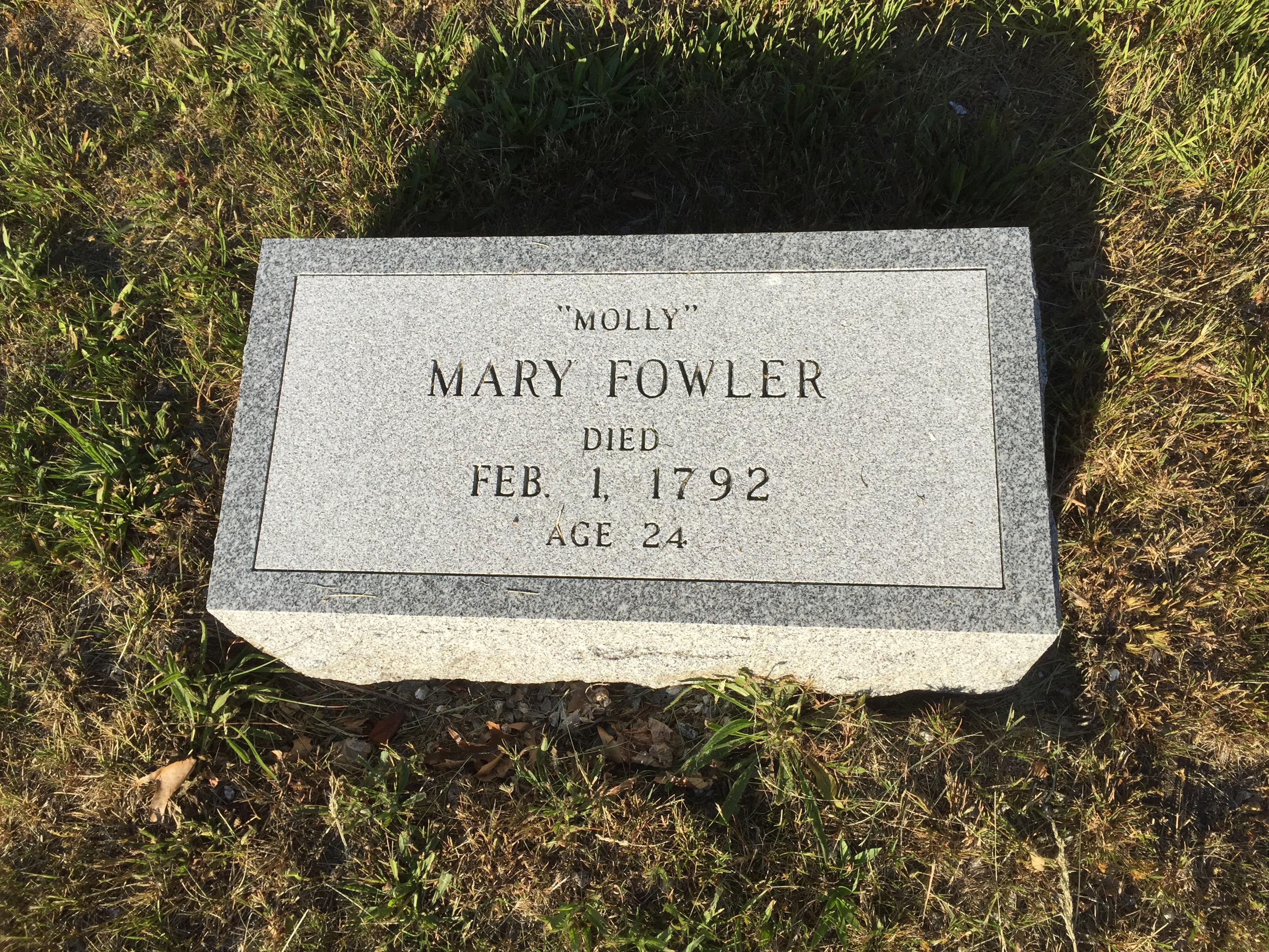 Mary Molly Fowler