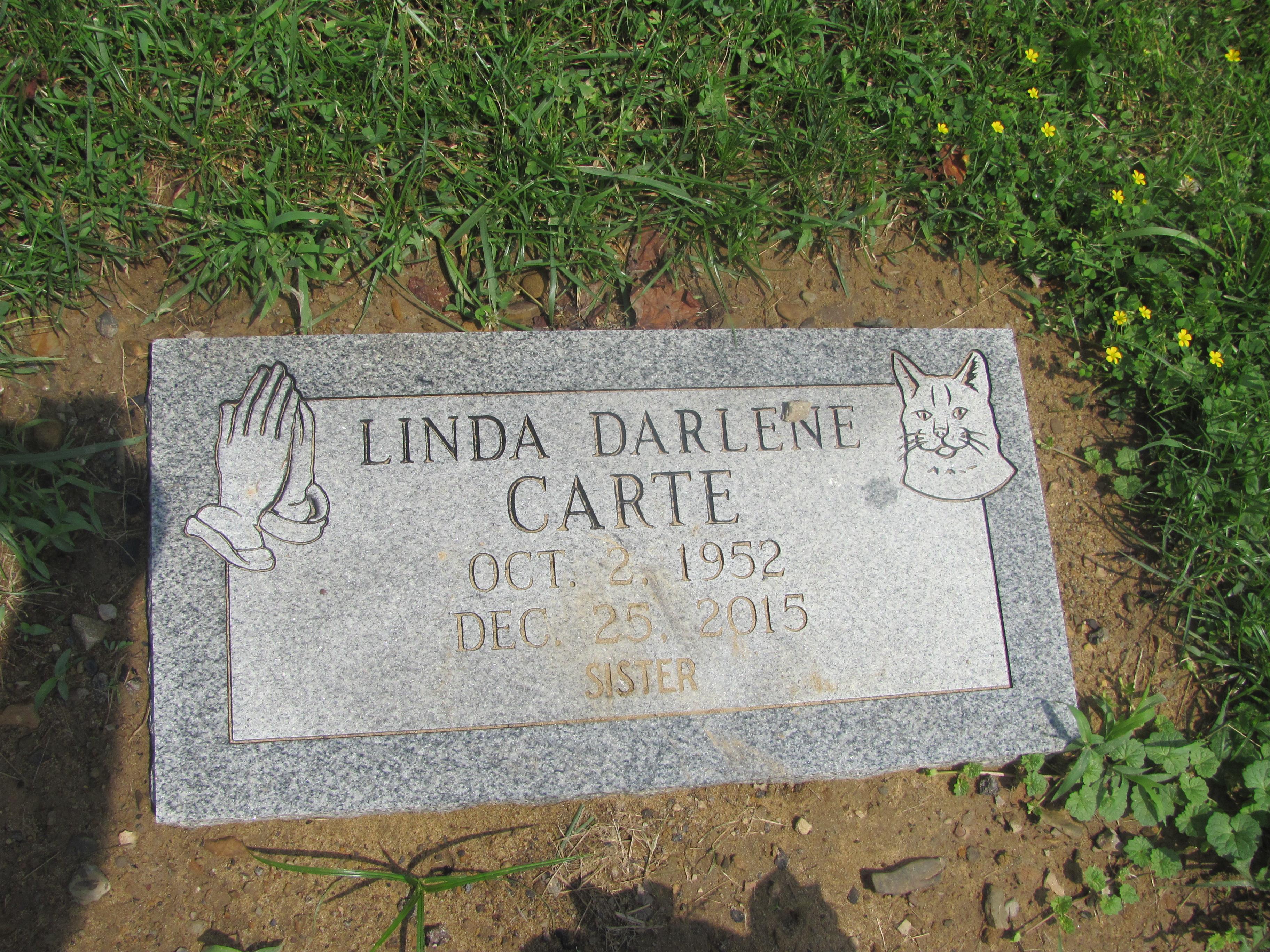 Linda Darlene Carte (1952-2015) - Find A Grave Memorial