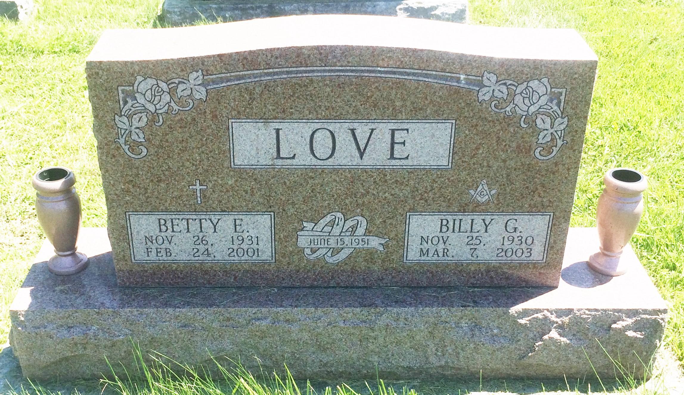 Betty Elaine <i>Chaney</i> Love