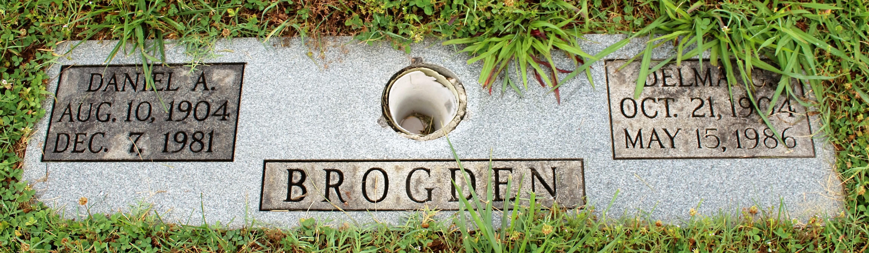 Delma G <i>Brogdon</i> Brogden