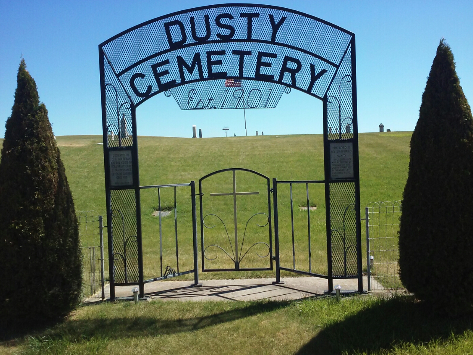 Dusty Cemetery