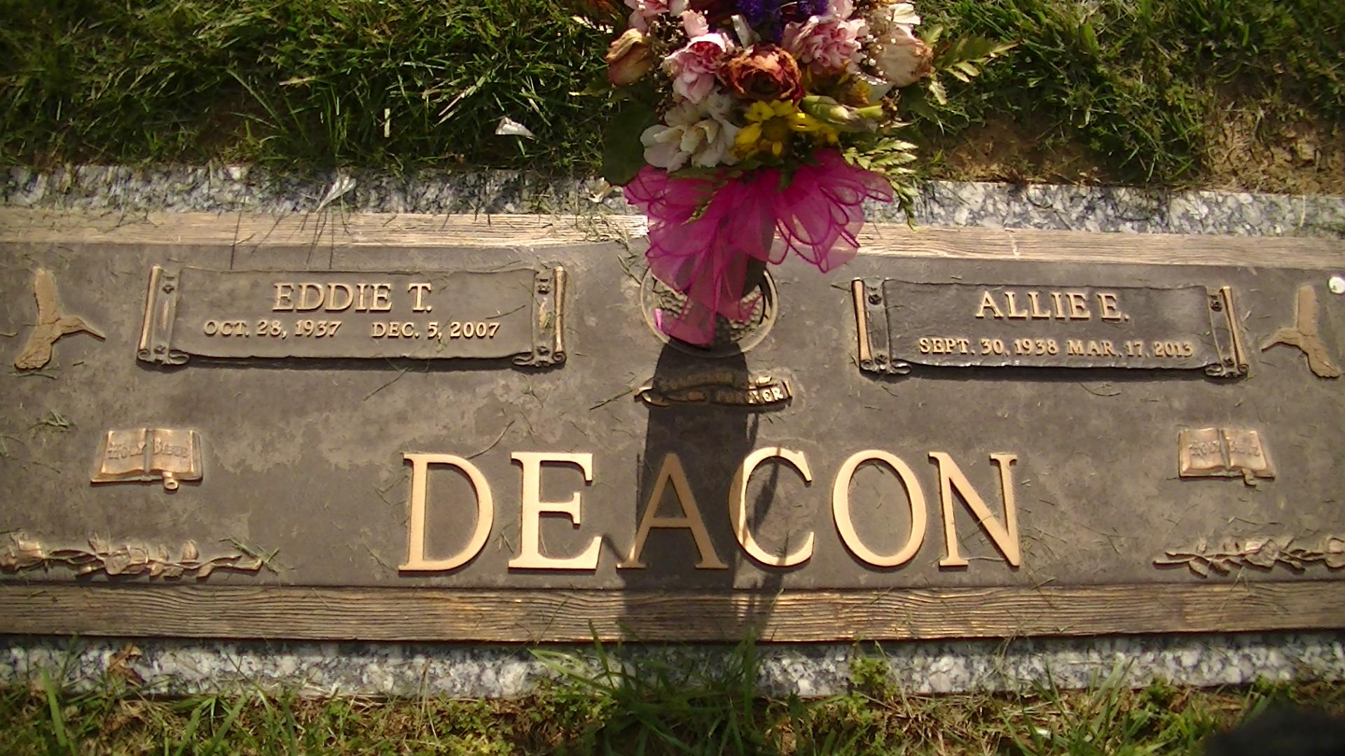 Allie E. Deacon (1938-2013) - Find A Grave Memorial