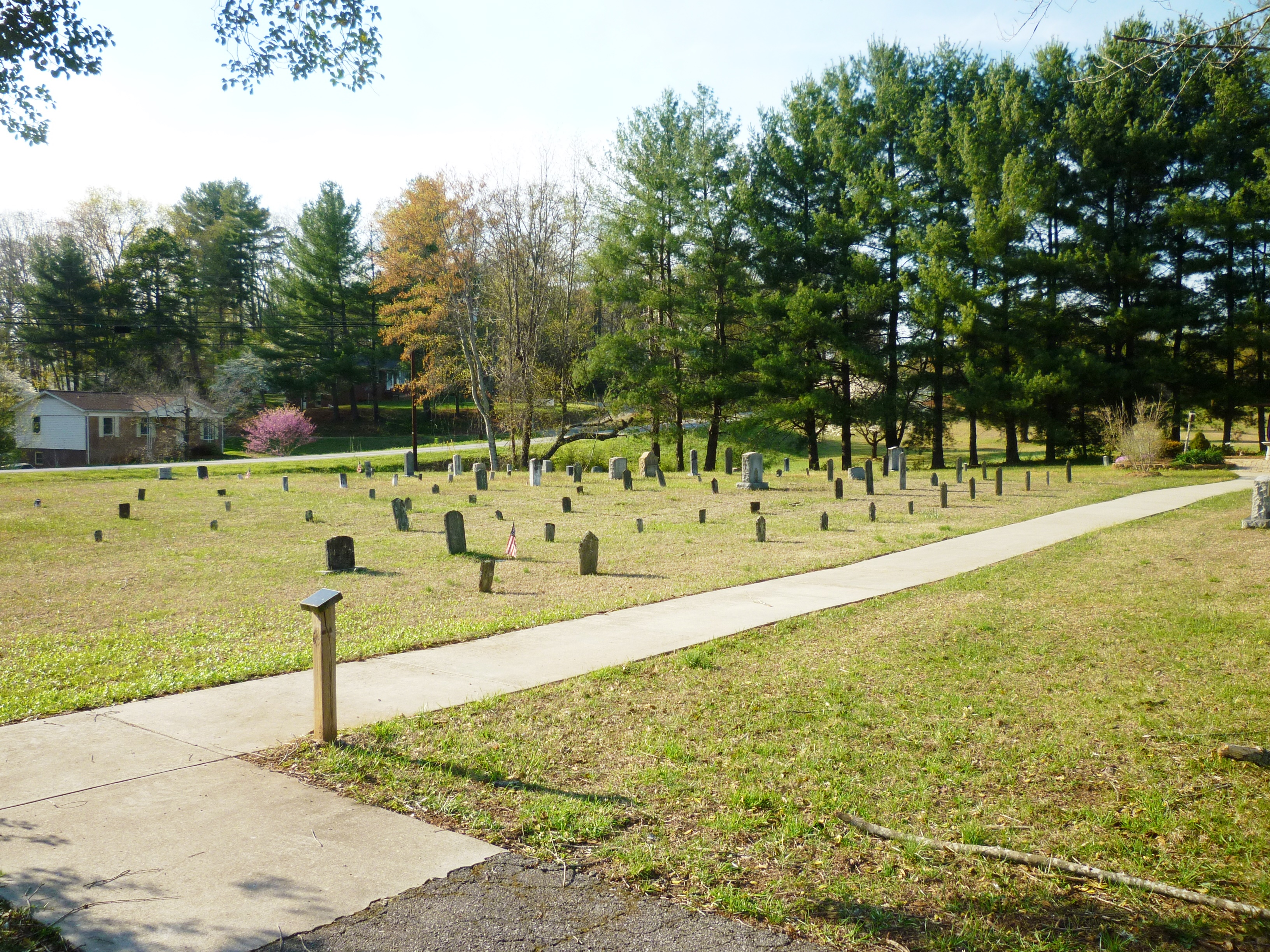 Quaker Meadows Presbyterian Church Cemetery