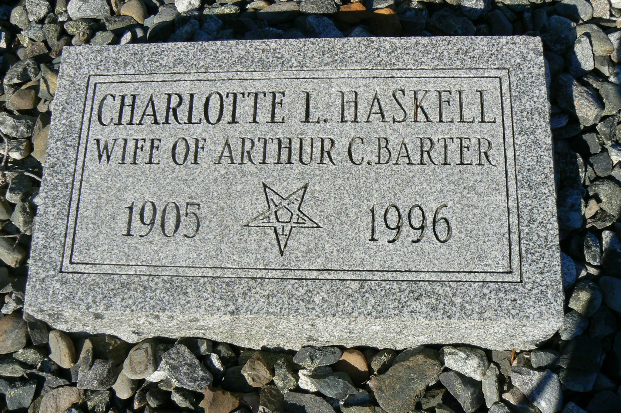 Charlotte L. <i>Haskell</i> Barter