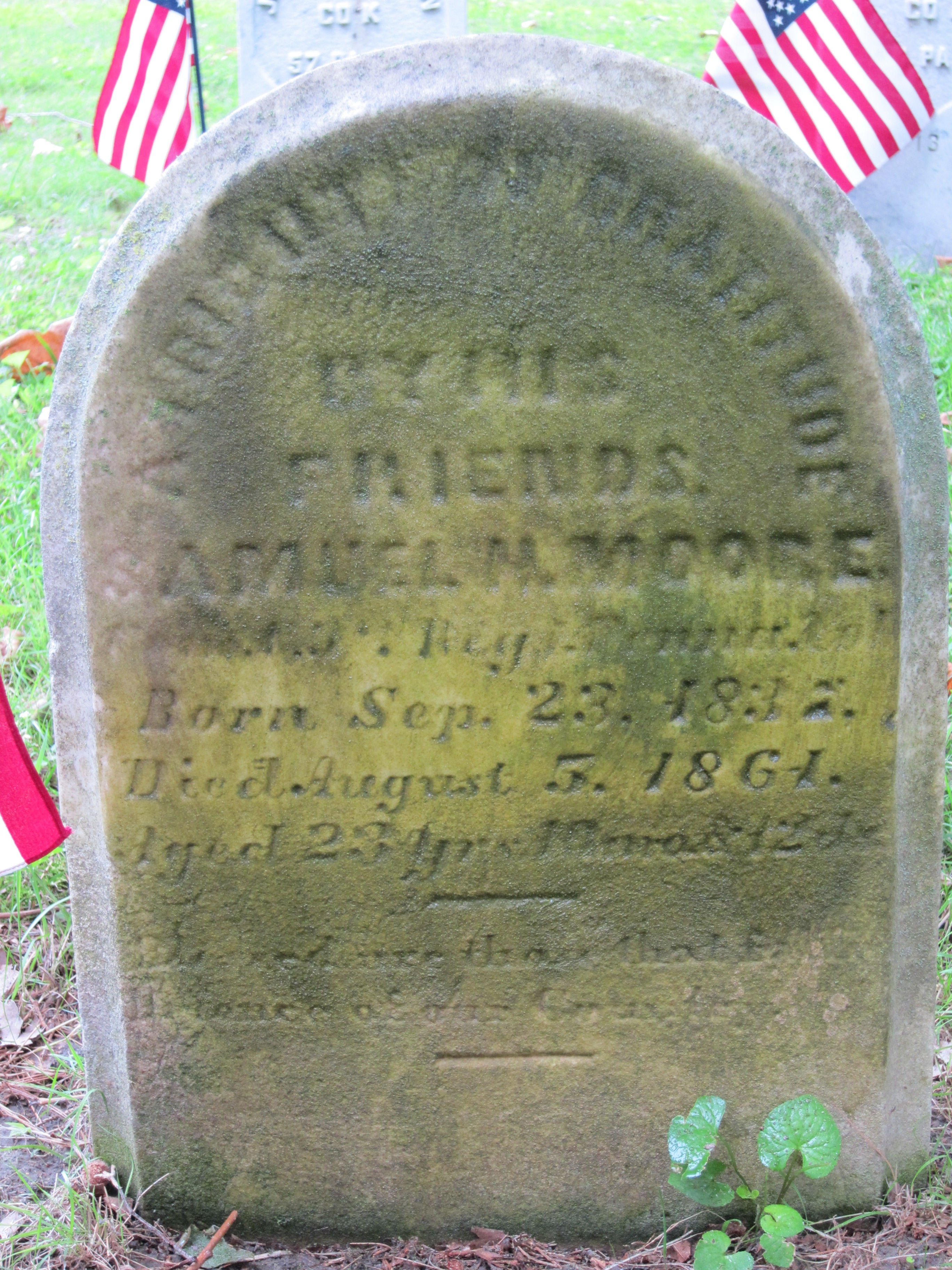 Pvt Samuel H Moore