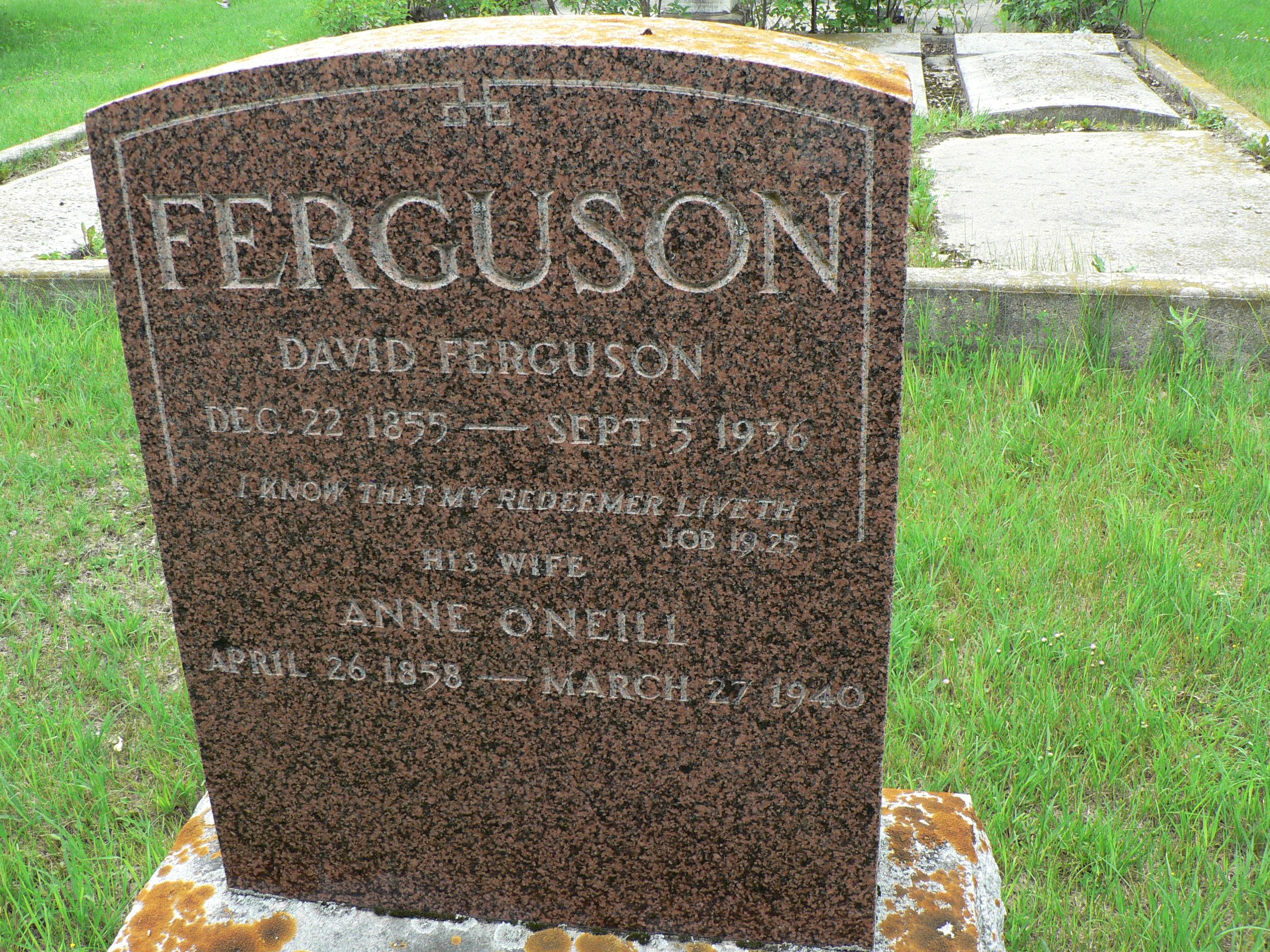 David Ferguson (1855-1936) - Find A Grave Memorial