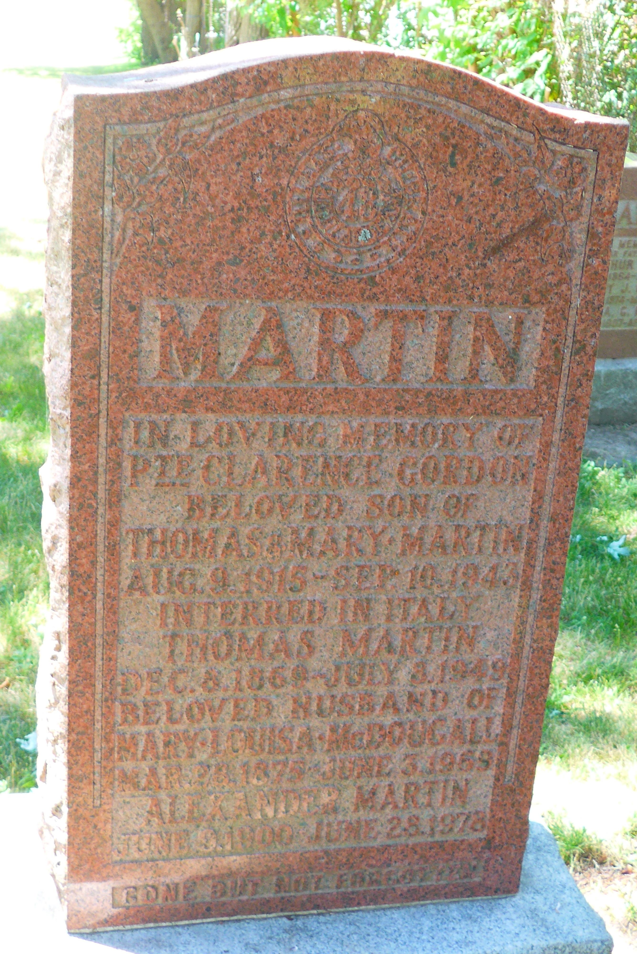 Mary Louisa <i>McDougall</i> Martin