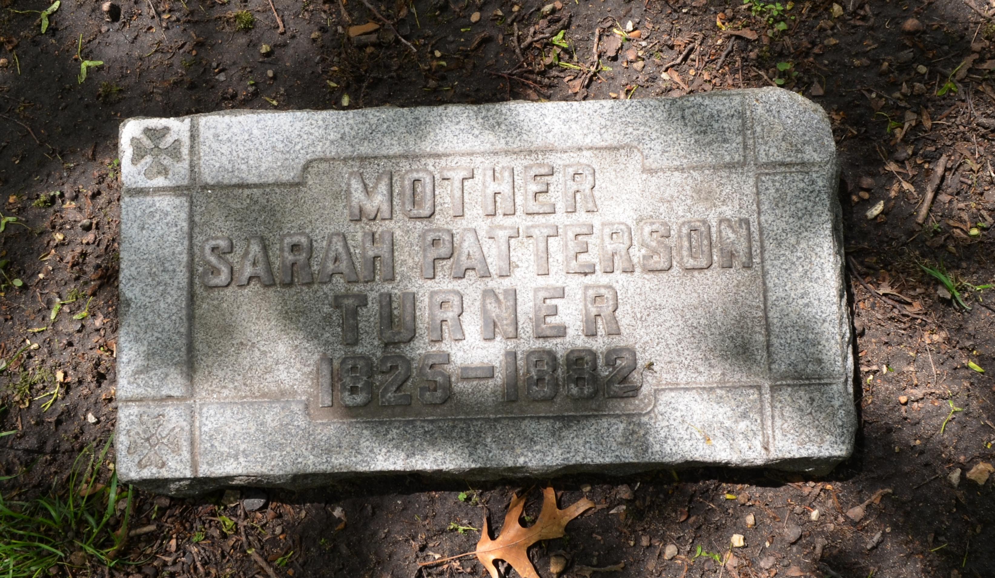 Sarah <i>Patterson</i> Turner