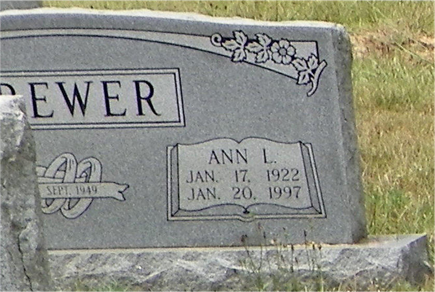Ann Lou <i>Carroll</i> Brewer