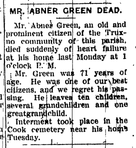 Abner A. Green