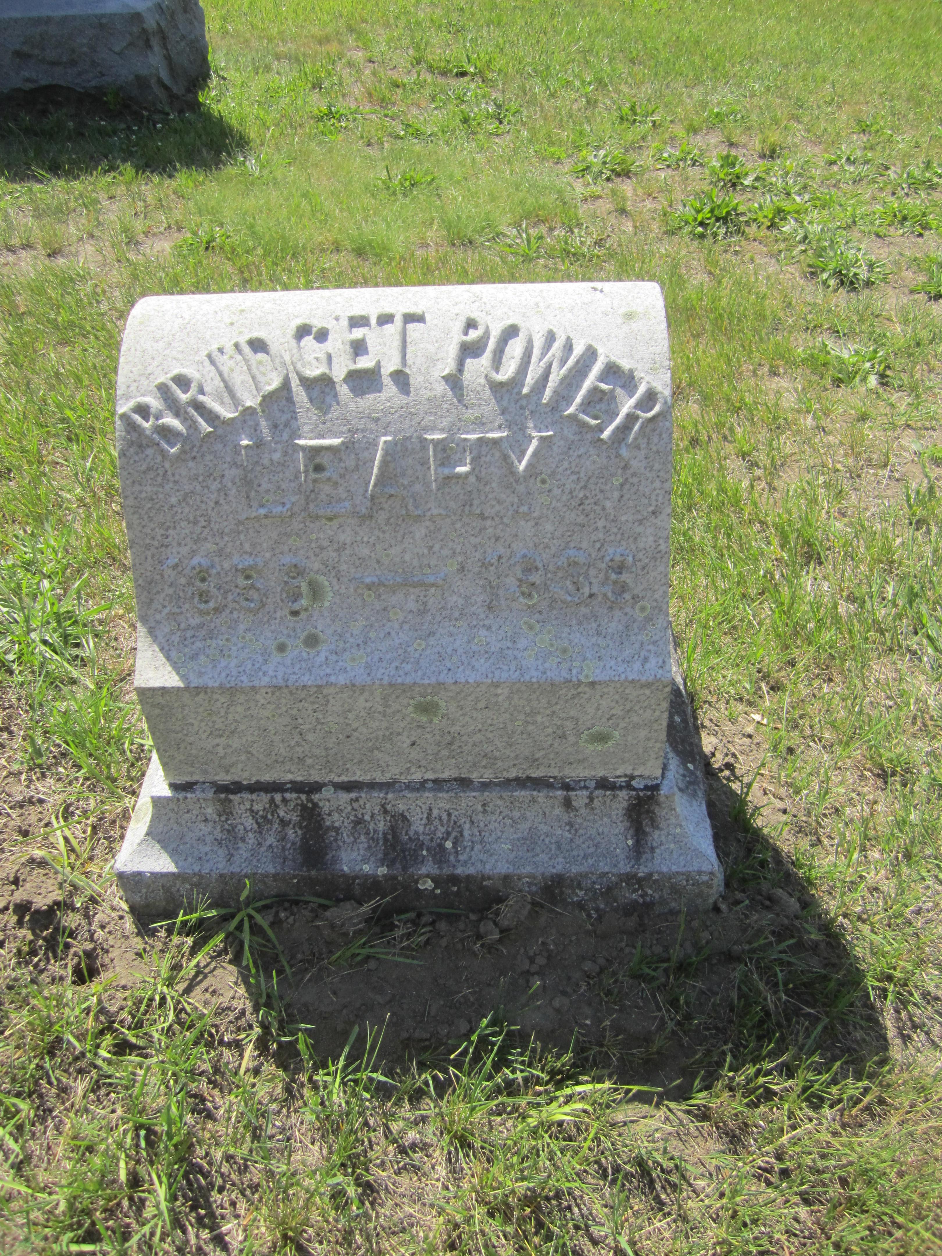 Bridget <i>Power</i> Leahy