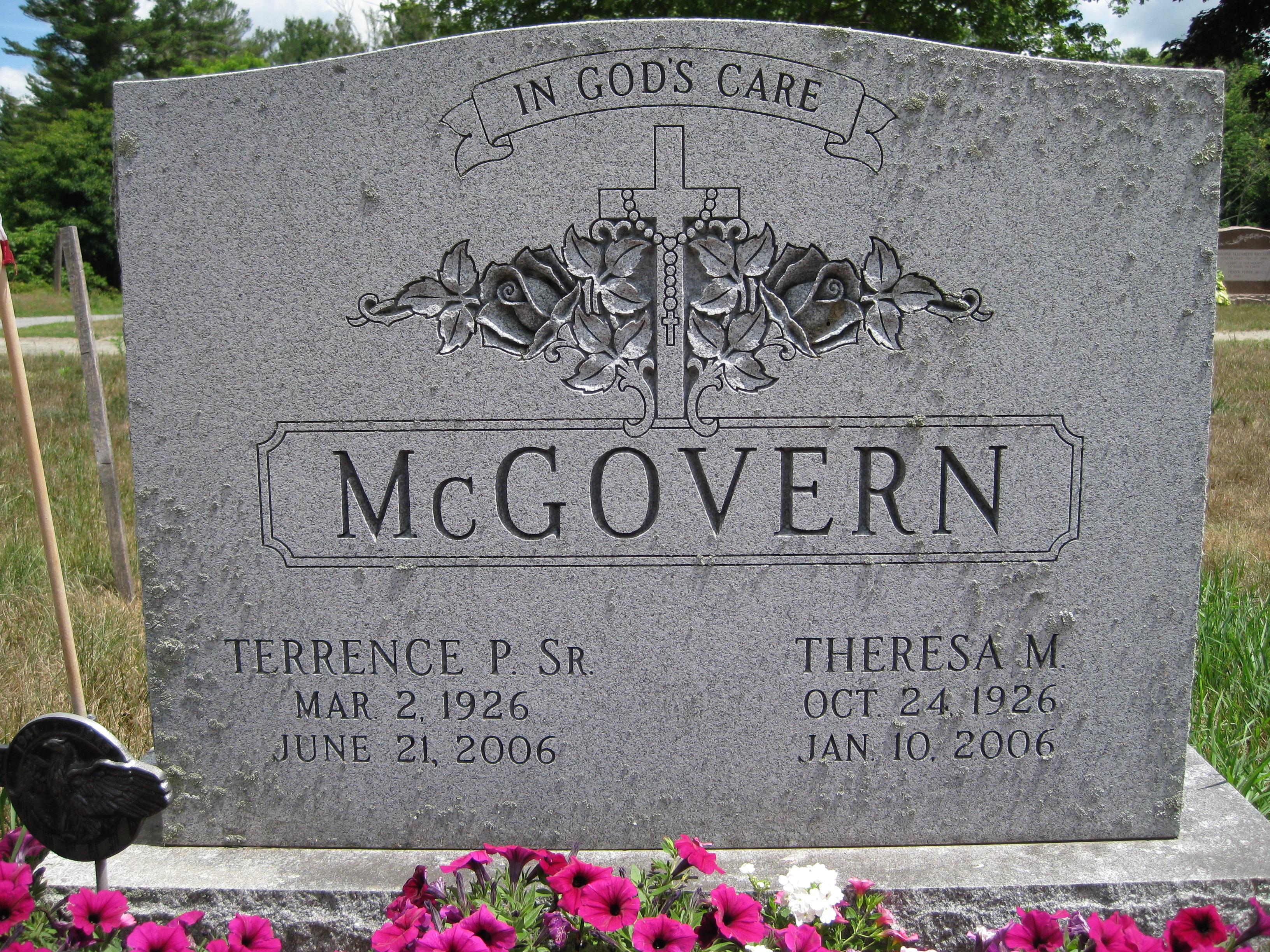 Theresa <i>McCarthy</i> McGovern