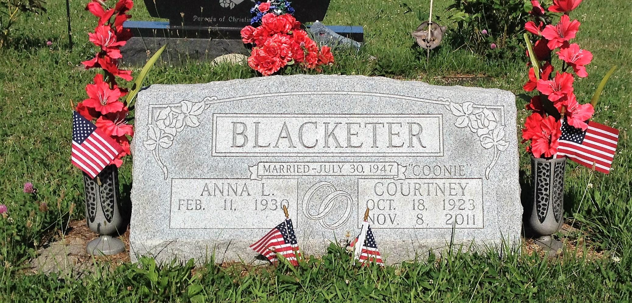 Courtney Coonie Blacketer, Jr