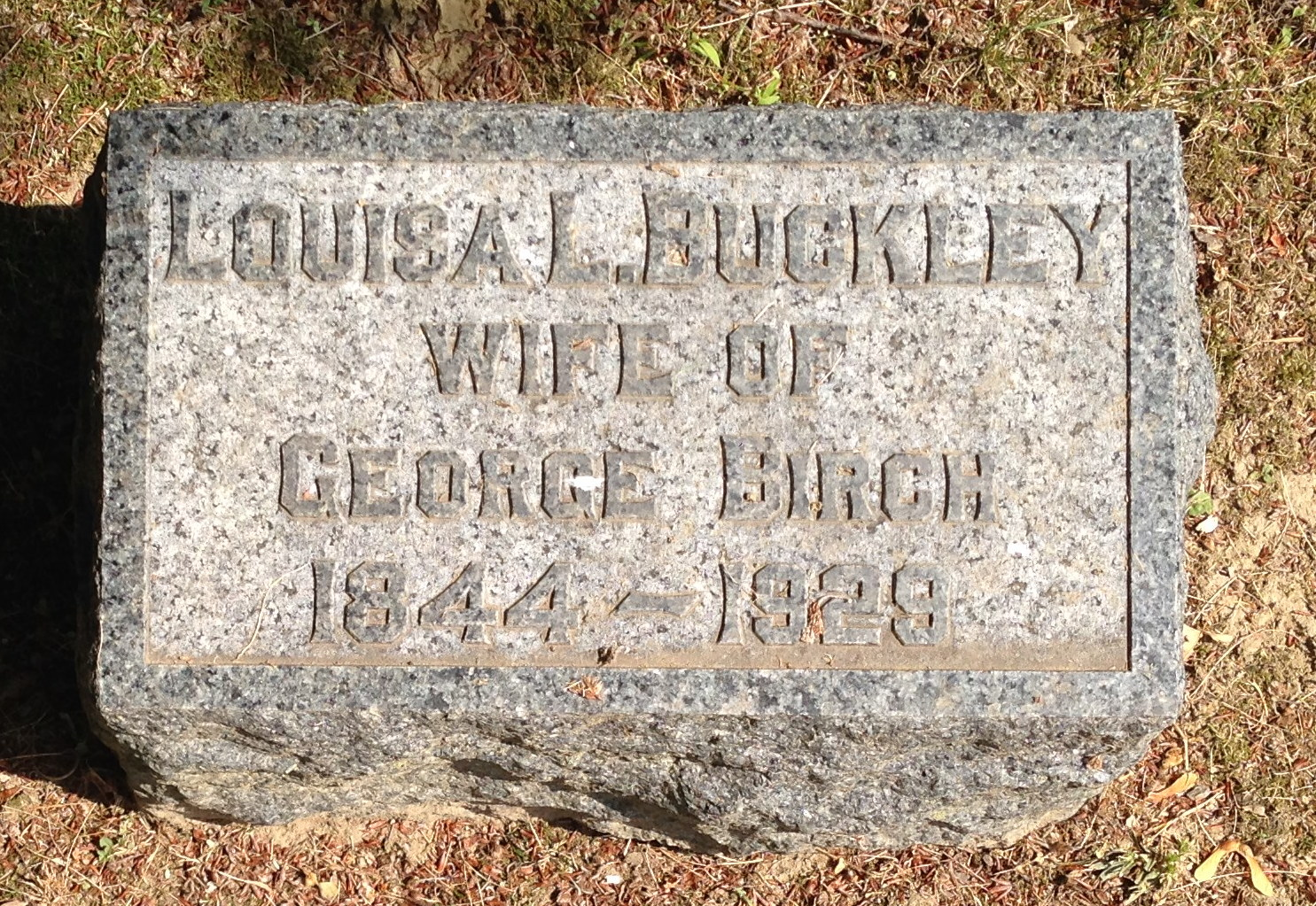 Louise <i>Buckley</i> Birch