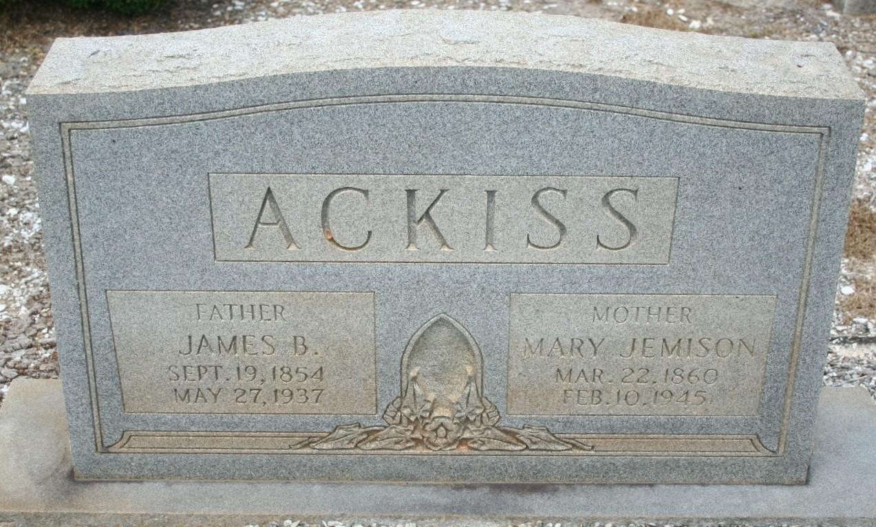 James Buchanan Ackiss