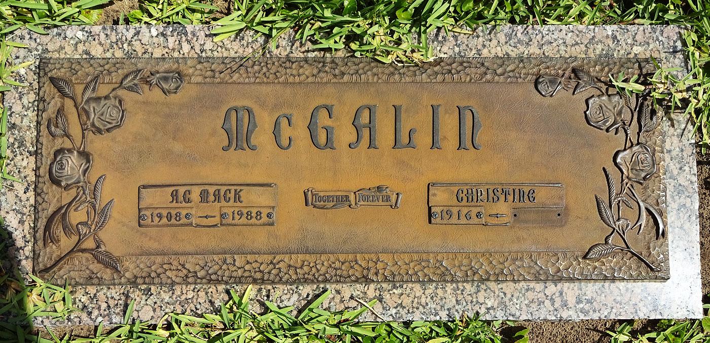 "Mary Christine ""Christine"" Pearson McGalin (1916-2013) - Find A ..."