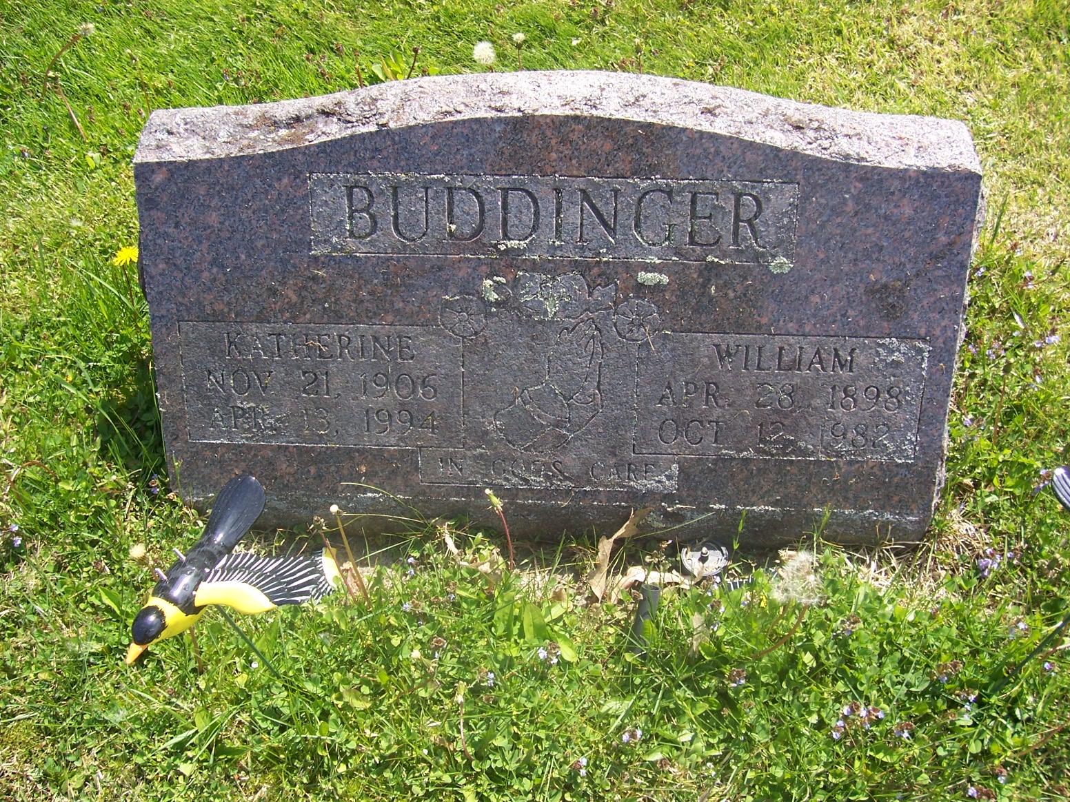 Katherine Elizebeth <i>Geisler</i> Buddinger