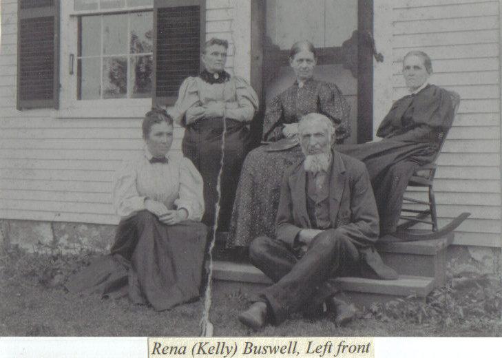 Rena <i>Kelley</i> Buswell